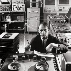 "therealmlw: "" karlheinz stockhausen by arnold newman composer, cologne, germany, 1964 """