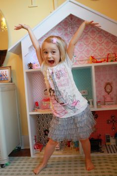 DIY DOLLHOUSE {PART 2: before & after tutorial} … ...
