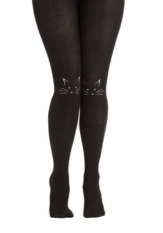 I'll Stand by Mew Tights, #ModCloth