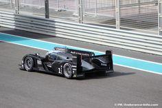 2013 Audi R18 testing at the Yas Marina circuit in Abu Dhabi.