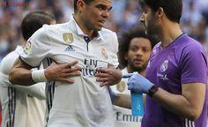 Pepe sufre la fractura de dos costillas en el derbi