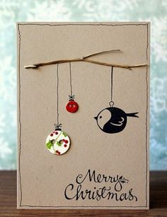 What is it? Christmas card. A card is a thick piece of paper that is usually folded in half and decorated on one side and that contains a greeting, an invitation, etc. #Christmas