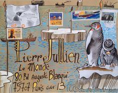 L'art postal façon pôle Sud                                                                                                                                                                                 Plus