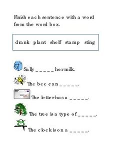 Ending Consonant Blends Fill in the Word Reading Kindergarten Printable. Great for literacy center ideas handout worksheet printable. Balanced literacy, reading strategies. 1 page. Please check out more fun fantastic bargains: https://www.teacherspayteachers.com/Store/Word-Masters