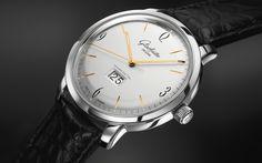 Nomos Glashutte  Original  What is the first word that comes to mind when seeing this watch?  ____________________________  #Nomos #Glashutte #NomosGlashutte #watchaddict #timepiece #wristwach #zeitwerk #luxury #luxurywatch #watchfam #watch