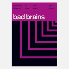 Bad Brains, 1985 17x23.75 now featured on Fab.