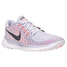 premium selection 69169 500bc Women s Nike Free 5 0 Running Shoes Titanium Black Fuchsia Flash Hot Lava  724383 502