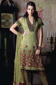 salwar kurta for women - Google Search I love the color and gradation of this. Also, the length is perfect for dresses on me.