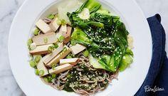 Bok Choy and Tofu Noodle Bowl