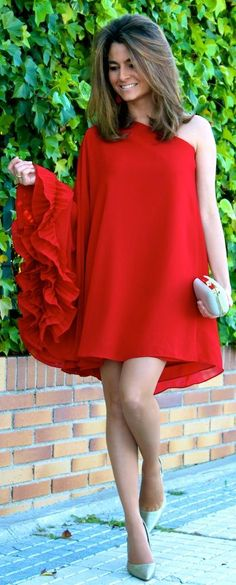 My Red Dress by Oh My Looks