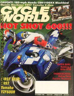 1996 September Cycle World Magazine Back-Issue – Yamaha YZF600R » www.DadsCycleMags.com