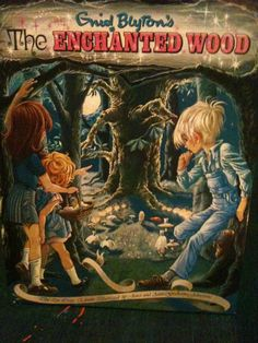 The Enchanted Wood  by Enid Blyton...my exact hard cover!