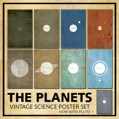 SAVE 15% on the Entire Vintage Solar System // 9 door TheGeekerie