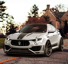 Maserati Levanti Custom tuned widebody. Check out Facebook and Instagram: @metalroadstudio Very cool!