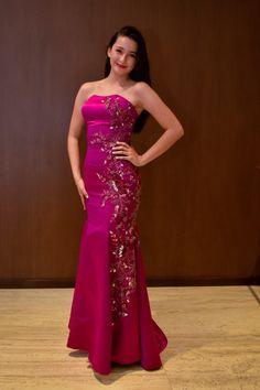Strapless Dress Formal, Formal Dresses, Pink Dresses, One Shoulder, Bra, Fashion, Quetzaltenango, Apparel Design, Couture