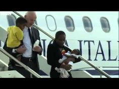 Meriam Ibrahim lands in Italy, on way to US; Update: Meets with Pope Francis posted at 8:01 am on July 24, 2014 by Ed Morrissey