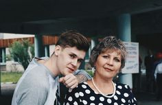 My mother and brother. #vscocam