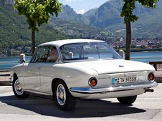 1961 Bertone BMW 3200 CS Coupé