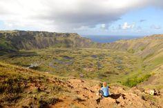 Pääsiäissaarten parhaat maisemat. Ja sitten ne moai-patsaat!