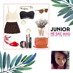 """""""Junior - Colorful Summer"""" Contest Summer Mixstyle from Trần Thị Thanh Nhàn Vascara's Shoe and Bag for women"""