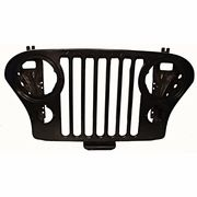 Jeep and (Scrambler) Steel Grille Replacement Jeep Body Parts, Jeep Frame, Jeep Cj7 Renegade, Jeep Cj6, Cj5 Jeep, Jeep Fenders, Jeep Scrambler, Jeep Grill, Fender Flares