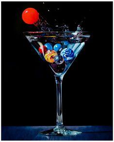 Godard Art, Alcohol Dispenser, Glass Photography, Cocktail Photography, Retro Pop, Airbrush Art, Pretty Wallpapers, Photo Canvas, Yummy Drinks