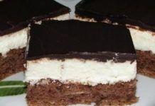 Krémové řezy se smetanovým krémem a čokoládovou polevou: Luxusní chuť a připraveno máte za 30 minut!