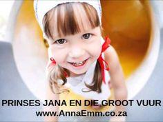Gratis Volledige luisterstorie: Jana en die groot vuur. #annaemmwapadrand #kinderstories #audiostories #gratis Kids Education, Best Mom, Afrikaans, Anna, Kids, Early Education