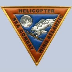 Buy Helicopter Sea Combat Wing US Atlantic Fleet Leather patch FlightJacket.com
