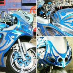 Custom paint on Gsxr #HouseofKolor #DiversityCycles Diversity-Cycles.com #PPAaward
