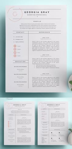 30 Best Word Resume Templates - Resume Template Ideas of Resume Template - High Quality Resume Template. resume template for word resume idea pretty resume work resume resume inspiration creative resume ideas creative resume design graphic design Creative Cv Template, Modern Resume Template, Resume Template Free, Word Template Design, Cv Templates Free Download, Best Cv Template, Word Templates, Graphic Design Templates, Resume Layout