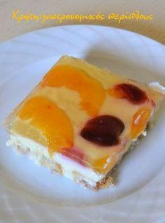 Γλυκό ψυγείου με φρυγανιές, σπιτική κομπόστα και άνθος αραβοσίτου ( και σε νηστίσιμη εκδοχή) – Κρήτη: Γαστρονομικός Περίπλους