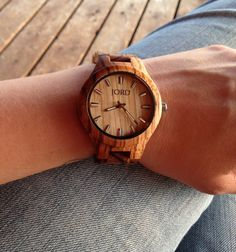 JORD offers a variety of wood watches not only for women but for men, too. Sure, you could buy your dad or hubby another coffee mug or tie for Father's Day ...