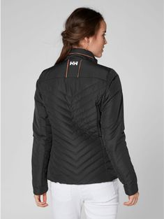 The women's Helly Hansen Crew Insulator Jacket is lightweight in a feminine and classic design that will last for several seasons. Shop it at www.mallofnorway.com/helly-hansen-as Helly Hansen, Winter Jackets, Feminine, Seasons, Classic, Shopping, Design, Women, Fashion