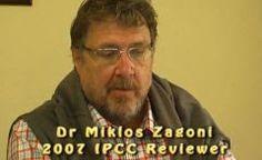 Dr. Miklós Zágoni, especialista em aquecimento global abandonou a defesa do protocolo de Kyoto: