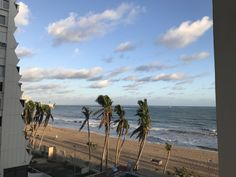 View from the Courtyard Marriott in Isla Verde