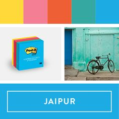 Explore the Post-it World of Color Jaipur Collection. #postitcolorsweeps  @postitproducts