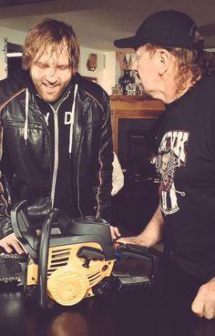 Dean Ambrose & Terry Funk