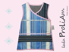 Robe bébé trapèze, chasuble, cache cœur, portefeuille, croisée ♥ 6/24 mois, robe tendance et moderne fabriquée en France : Mode Bébé par lulu-proliam