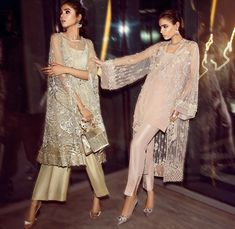 Get your Eid ensembles sorted with Elan's ready-to-wear formal, Nuit de Fete 🔝😍* launching online tonight at midnight 🙌🏻 In stores… Pakistani Fashion Party Wear, Pakistani Wedding Outfits, Pakistani Dress Design, Pakistani Dresses, Indian Dresses, Indian Outfits, Indian Fashion, Event Dresses, Casual Dresses