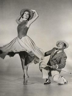 Leslie Caron and Gene Kelly    An American in Paris (1951)