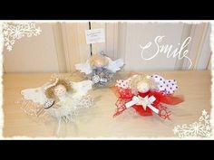 Speedy Angelina: angioletto natalizio veloce & senza cucire - YouTube
