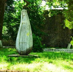Statue at Lake Pamvotis, Ioannina, Greece. #travel #greece #epirus #ioannina #dreamingreece #travelguide