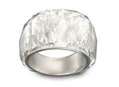 4 Argent Sterling .925 emblématique Mickey Mouse Ring avec 3 White CZ Cristaux SZ 3 5 /&