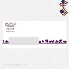 real estate envelopes, realtor envelopes, realtor window envelopes, envelopes, Berkshire Hathaway envelopes, BHHS envelopes