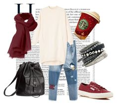 """""""#mydailyfashion#sultankurtay"""" by sultankurtay on Polyvore featuring Monki, Superga and H&M"""