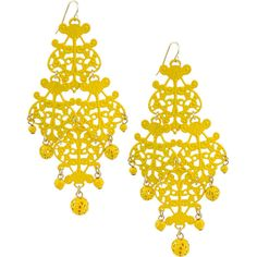 Maureen Dangling Earrings (295 RUB) ❤ liked on Polyvore featuring jewelry, earrings, accessories, yellow, hook earrings, forever 21, dangle earrings, yellow dangle earrings and beaded earrings