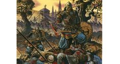 Depiction of the Byzantine Army in full force