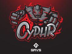 Cyphr esport team logo by spaceship creativelab