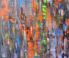 """""""Infinity"""" 120x100x2 cm Acryl on canvas"""